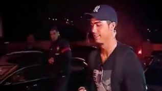 Cristiano Ronaldo heckled with Messi, Messi chants on arrival at Portugal squad HQ