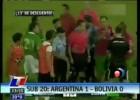 Este Argentina-Bolivia Sub-20 es de los partidos denunciados