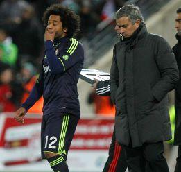 Mourinho señaló a seis jugadores por la derrota