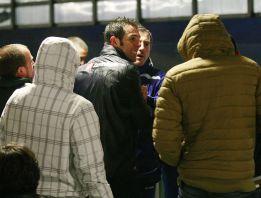 Insultos a los jugadores en el entrenamiento del Deportivo