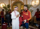 La Selección puede recibir la visita de Raúl en Catar