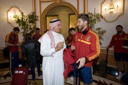 La Selección española puede recibir la visita de Raúl en Catar