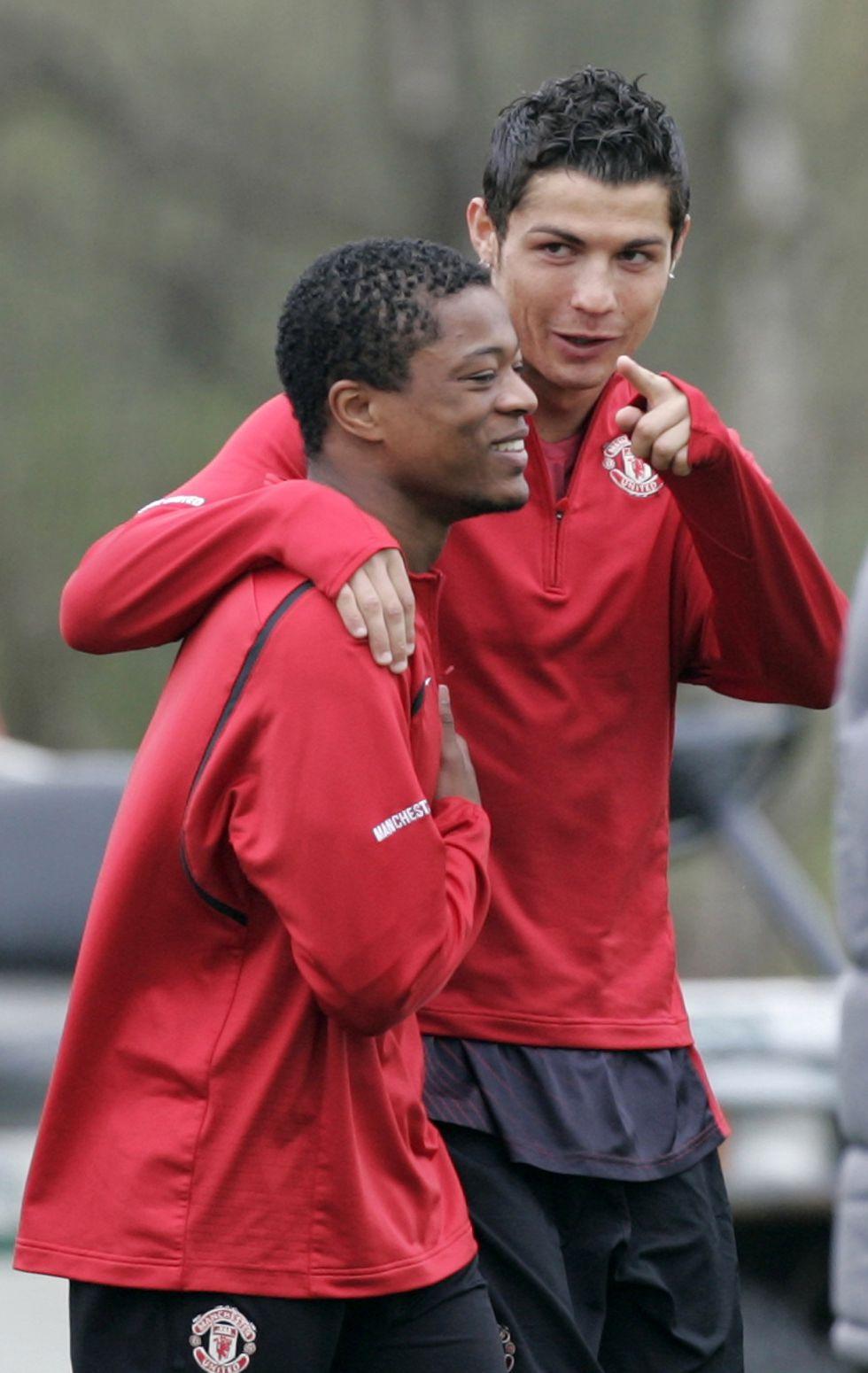 """Evra: """"Es mejor no enojar a Cristiano antes del partido"""""""