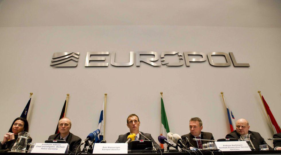 La Europol destapó ayer una red de corrupción en el fútbol