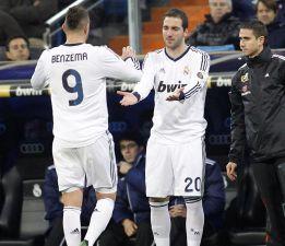 Benzema e Higuaín, tal para cual