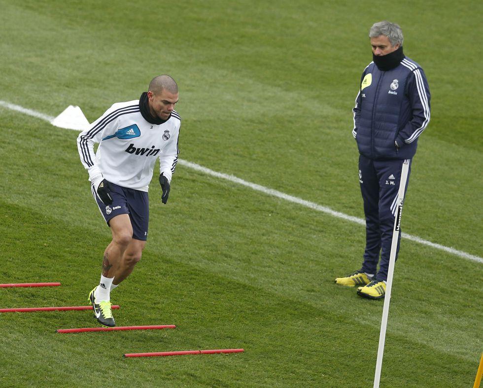 Pepe está curado, pero necesita coger una buena forma física