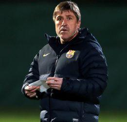 Con Roura de técnico apenas hay rotaciones en el Barcelona