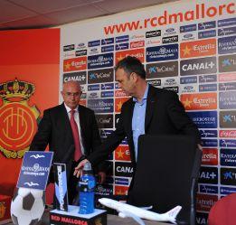 Manzano será presentado a las 13:00 como técnico del Mallorca