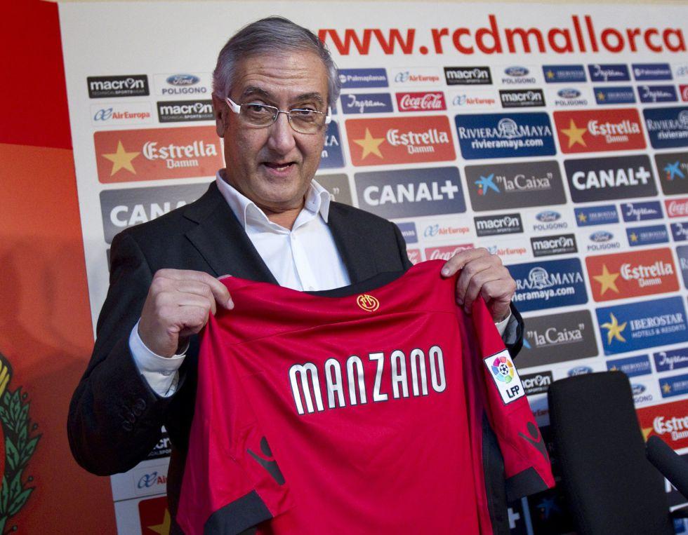 """Manzano fue presentado con el Mallorca: """"Conozco el reto"""""""