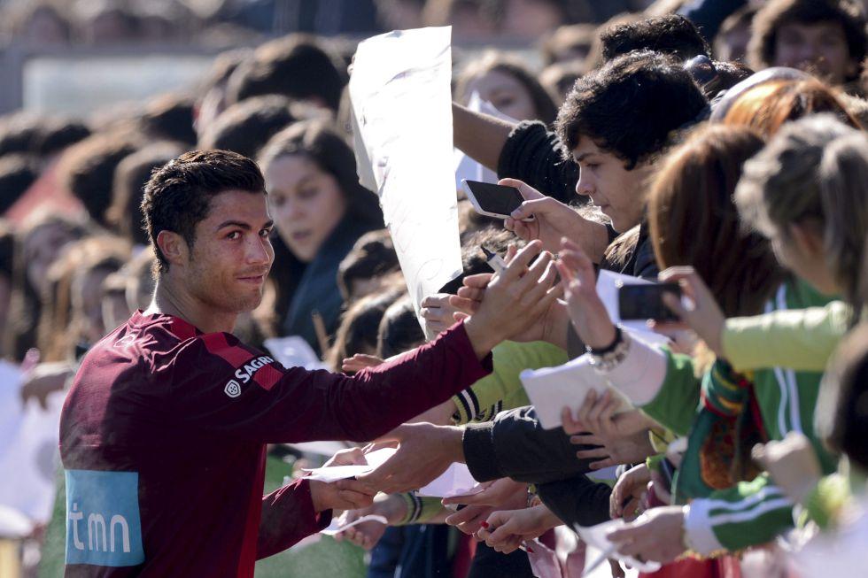 Cristiano Ronaldo sólo jugará 45 minutos frente a Ecuador