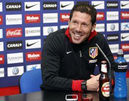 """Simeone: """"Contra el Rayo vamos a intentar ir a por la victoria"""""""