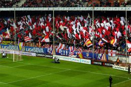 La afición atlética tomará Valladolid y Sevilla