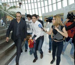 Raúl González Blanco llevó a sus hijos a conocer a los campeones
