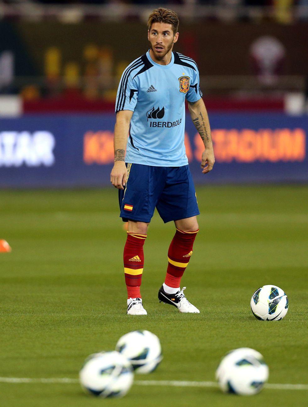 """Ramos: """"Parecía que los nuevos llevaban veinte partidos aquí"""""""