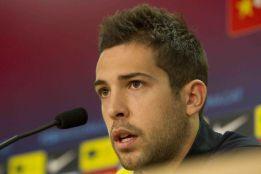 """Jordi Alba contesta: """"Lo que dijo Callejón de Messi sólo lo vio él"""""""