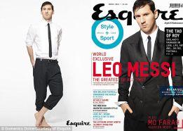 Messi, estrella en la portada de Esquire: ¿El mejor de siempre?