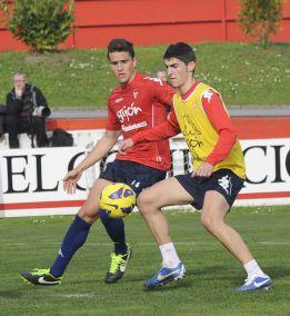 Madrid y Barcelona observaron a Borja contra el Racing
