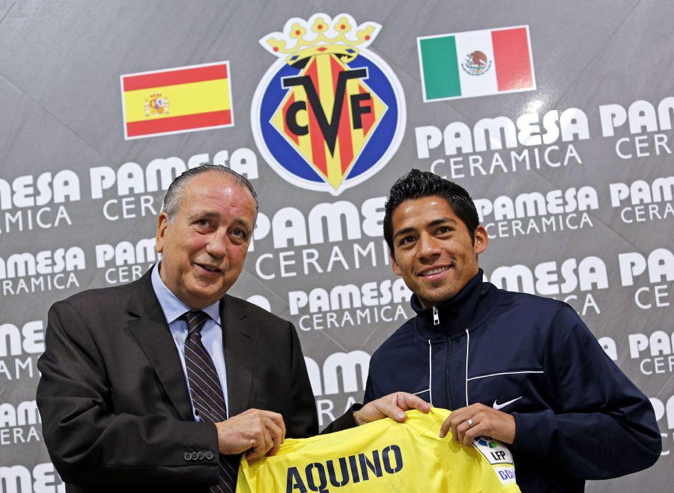 """Javier Aquino: """"Mi objetivo es devolver al Villarreal a Primera"""""""