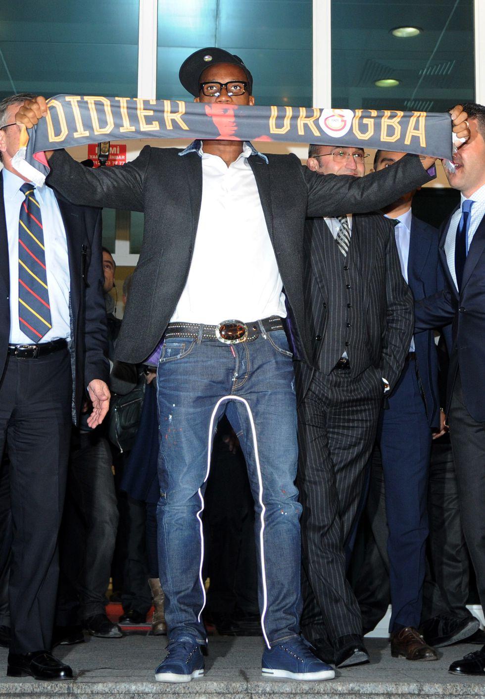 """Didier Drogba llegó a Estambul: """"Es un nuevo desafío para mí"""""""