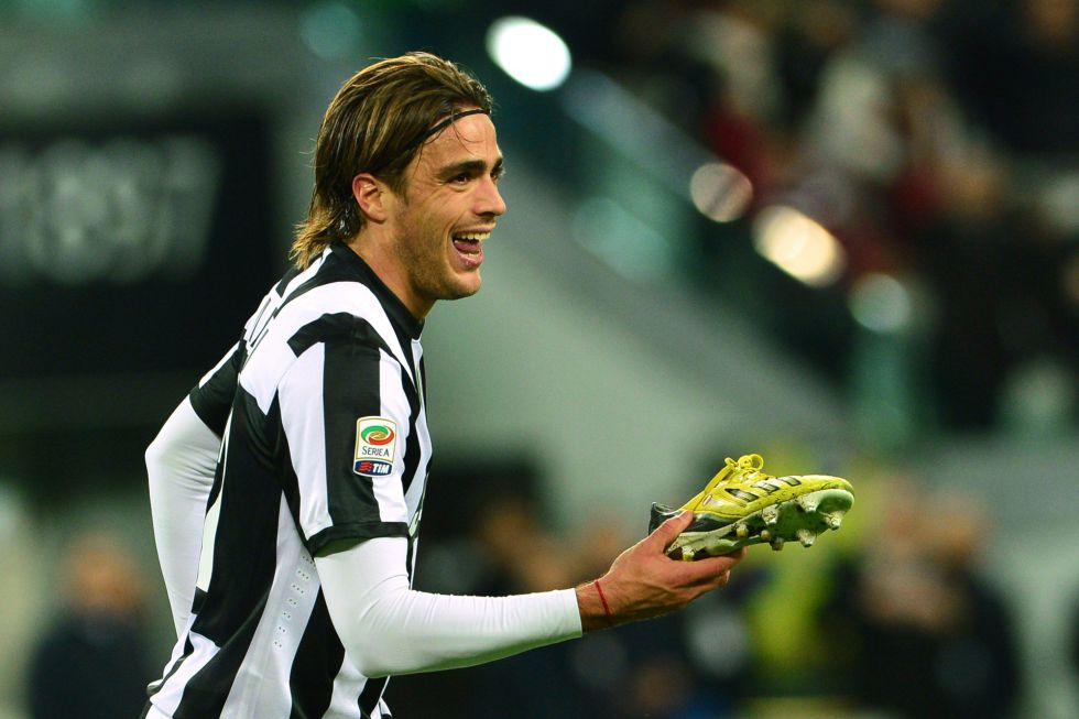 La Juventus despacha a la Fiore con un gol de Matri descalzo