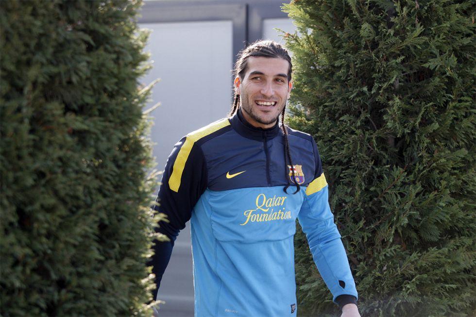 Pinto firmará este lunes su renovación con el Barcelona