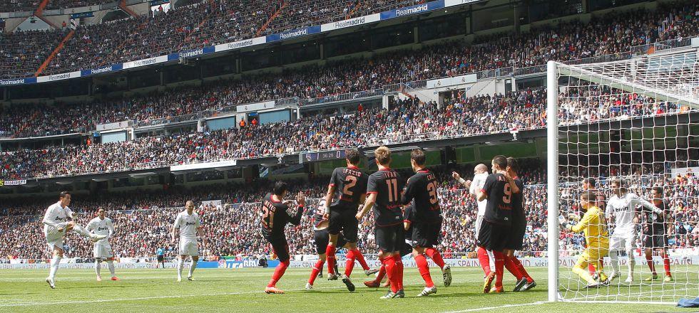 El Bernabéu no se llenará hoy