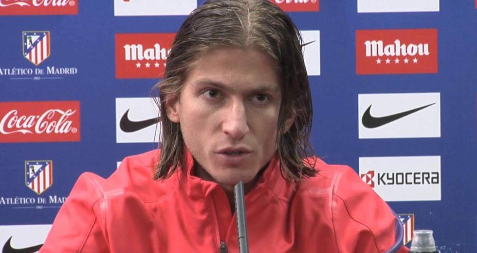 """Filipe Luis: """"Vallecas es un campo muy complicado"""""""