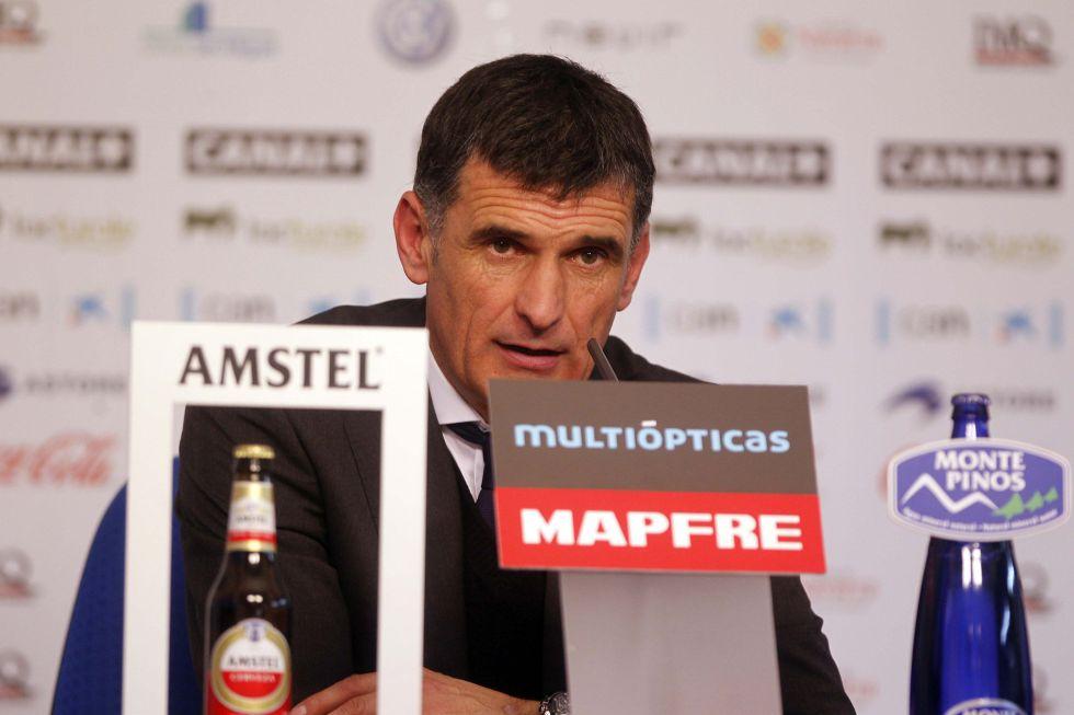 """José Luis Mendilíbar: """"El empate llegó por una indecisión"""""""