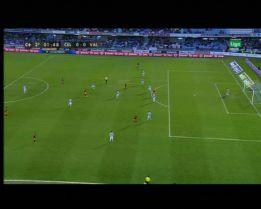 Teixeira anuló un gol a Soldado