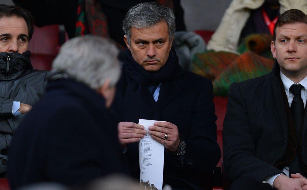 """Mourinho: """"El United-Madrid es el partido que todos quieren ver"""""""