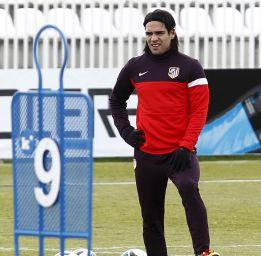Falcao marca en todos sus partidos ante el Rayo Vallecano