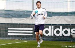 Casillas vuelve a entrenarse y realiza carrera continua