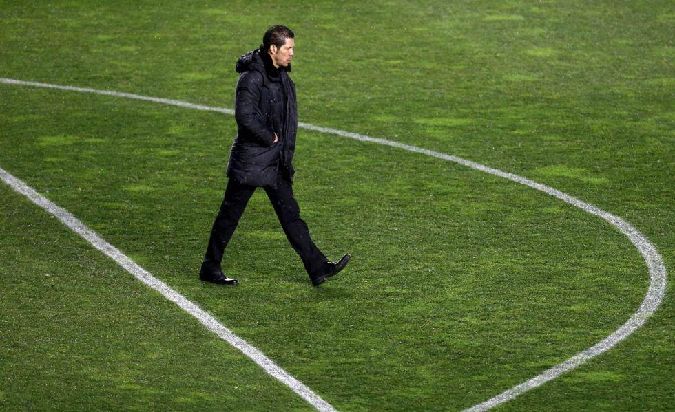 """Simeone: """"Nos ha costado entrar en el partido, no hay más"""""""