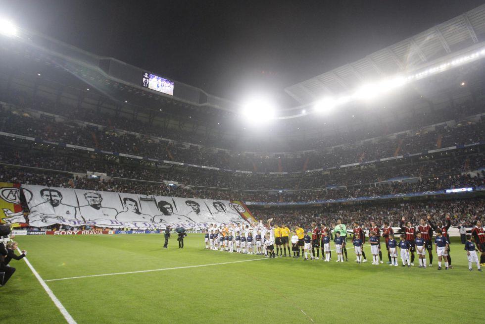 Se agotaron ayer las entradas para ver el Madrid-Manchester