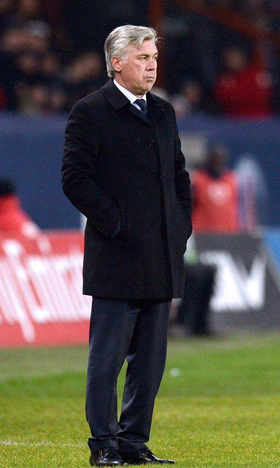 """Ancelotti: """"Lo máximo en este momento es entrenar al PSG"""""""