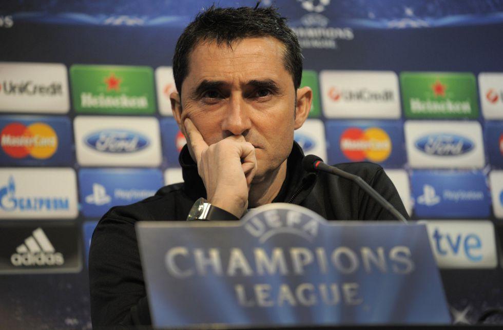 """Valverde: """"El PSG se parece más al Madrid que al Barcelona"""""""