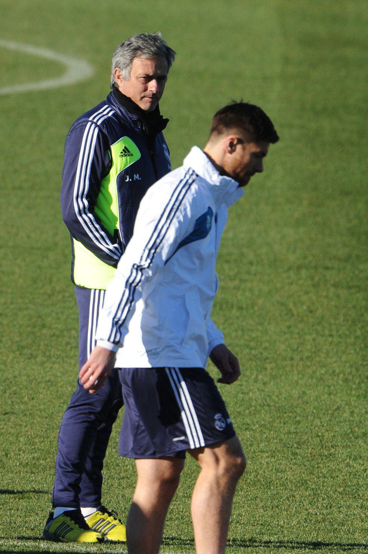 Xabi se entrena con el grupo: el Real Madrid está al completo