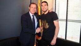 """Pinto firma hasta junio de 2014: """"Me quiero retirar a los 50"""""""
