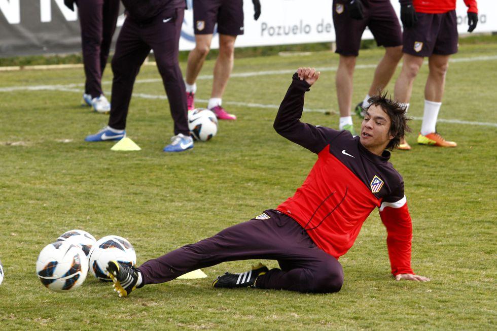 El Atlético ya piensa en europa y en el Rubin Kazan