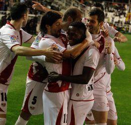 El Rayo Vallecano está a un tanto del gol 600 en Primera