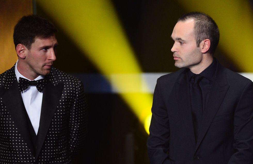 """Messi: """"Todo lo que hace Iniesta lo hace bien y cada año, mejor"""""""