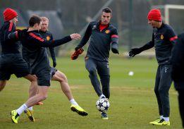 Los 'diablos rojos' se entrenaron en casa antes de ir a Madrid