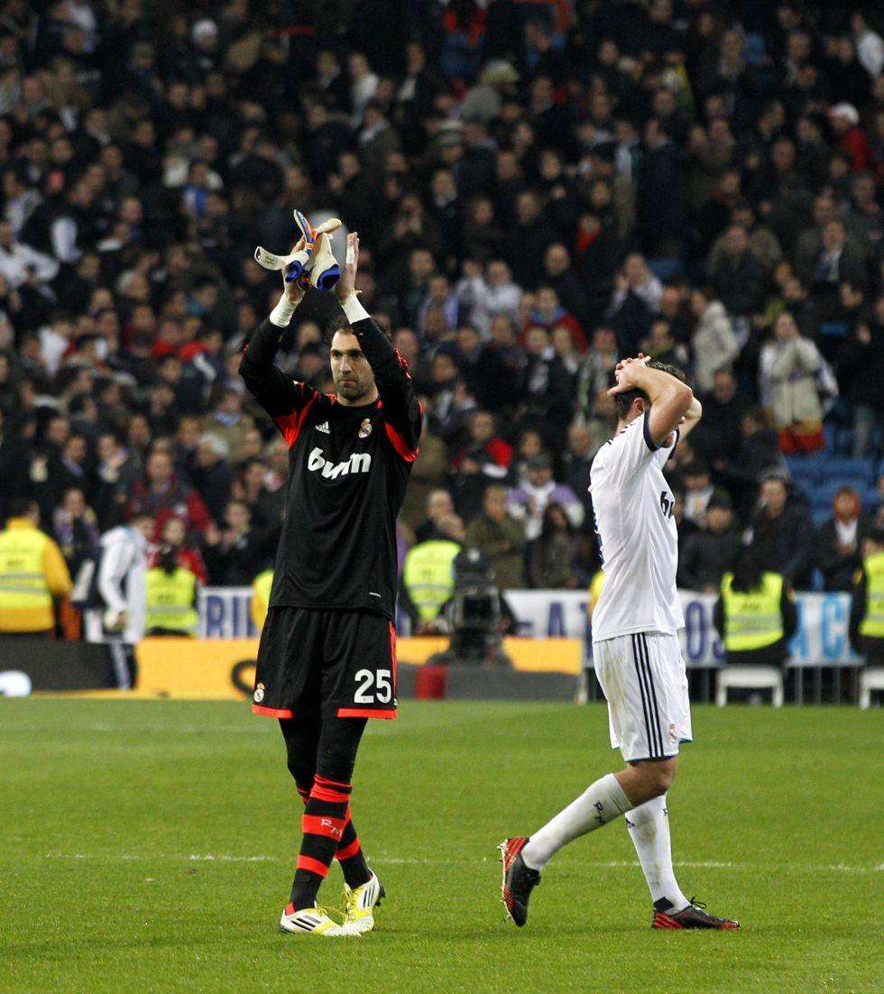 Diego López no encajó gol en 180 minutos ante el Manchester