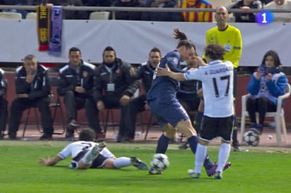 Ibra, citado por la UEFA el 27-F