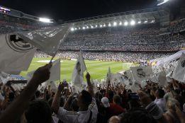 El Madrid dejará una bandera del equipo en cada asiento