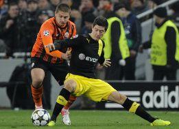 El Borussia sale vivo de Donetsk