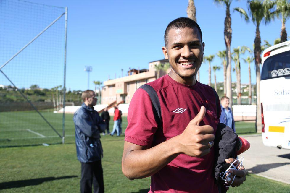 """Rondón: """"No quería irme del Málaga, pero ahora soy feliz"""""""