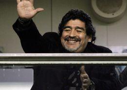 Maradona, padre de un niño llamado Diego Fernando