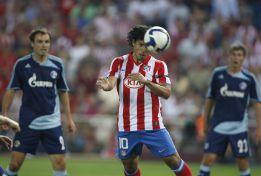 El Atleti está a un gol del 200 europeo en el Vicente Calderón