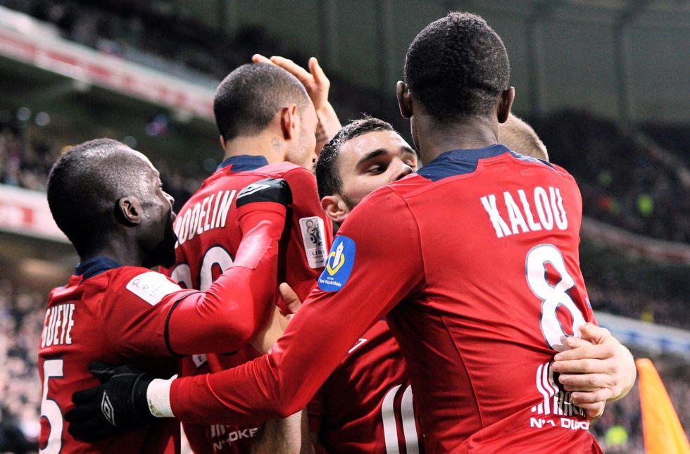 El Lille frena la racha del Rennes